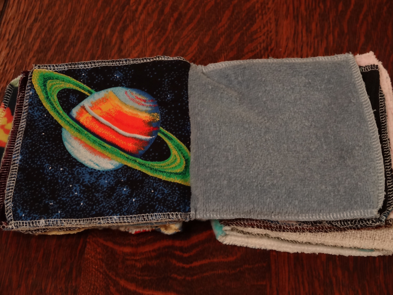 Fabric Sensory Book (Tutorial by Erin Lee)