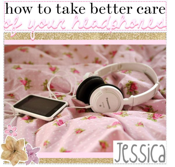"""Taking Care Of Your Headphones Better ."" by tip-castle ❤ liked on Polyvore"