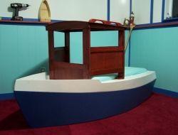 DIY Boat Bed - Finished Boat Bed