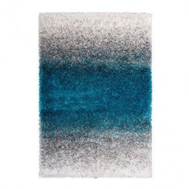 Dywan Etro 80 X 150 Cm Szaro Niebieski Home Dywany