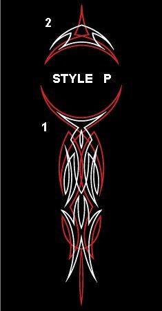 Winners cycle graphics old school design chart with different pinstripe designs also rh pinterest