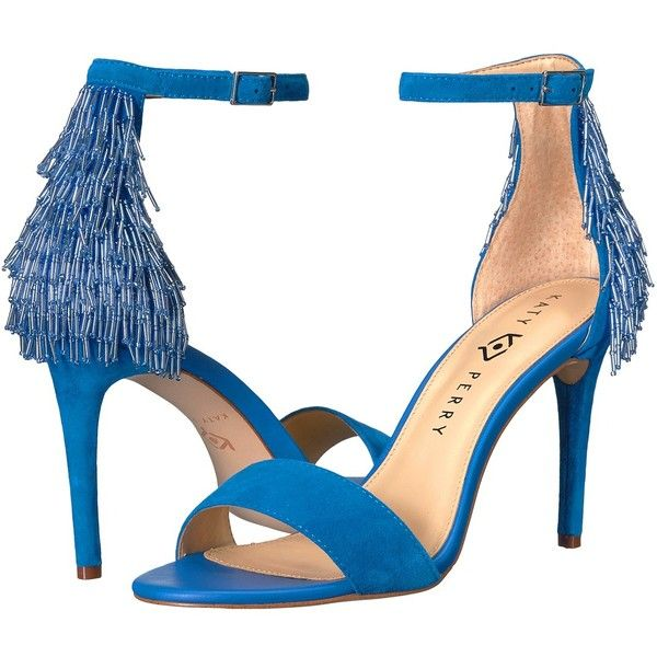 0d4d3c772c8 Katy Perry The Kate (Ocean Blue Suede) Women s Shoes (€110) ❤ liked ...