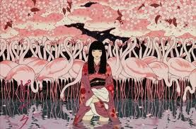 Ancient Japanese Woman Japanese Pop Art Japanese Art Modern Pop Art Artists