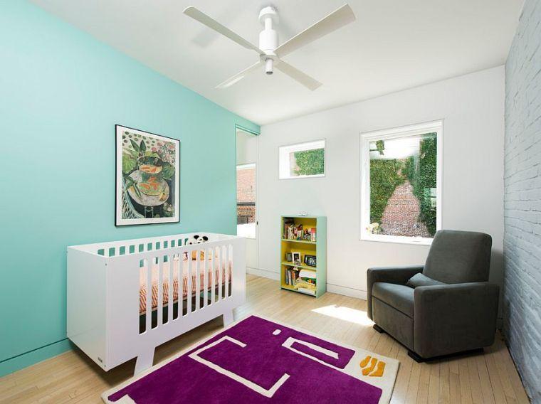 Chambre bébé bleu canard  déco, mobilier et accessoires
