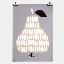 Poster Harvest Pear darling clementine
