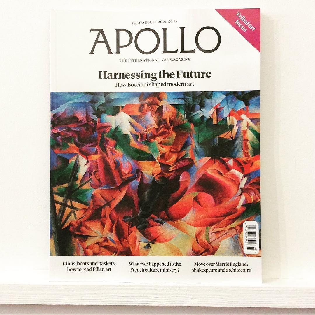 A bit of #boccioni #fortheweekend in @Apollo_magazine #art #painting #exhibition #gallery #fijian #shakespeare & #architecture #rome #christopherwood #nationalmuseumofscotland #tribalart #takesadamatsutani #artmarket #charleslebrun #vandyck #aubreybeardsley