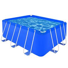 Rectangular Swimming Pools Above Ground Large 13 X 6 Patio Garden Steel Kit Set Rectangular Swimming Pools Swimming Pools Above Ground Swimming Pools