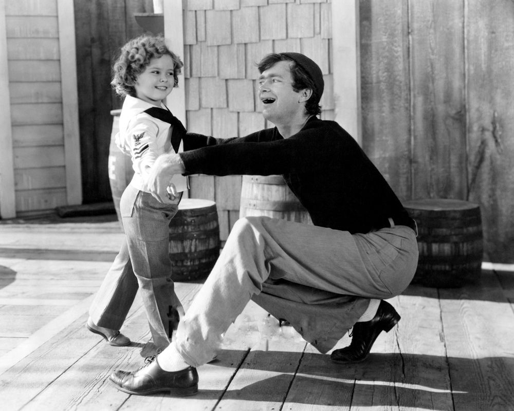 buddy ebsen shirley temple