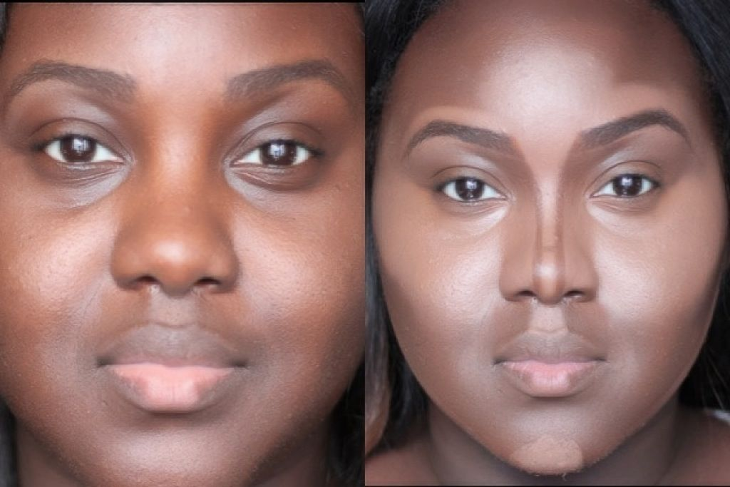 Chanel Boateng: Contour your nose like a PRO! For chubbier, rounde...