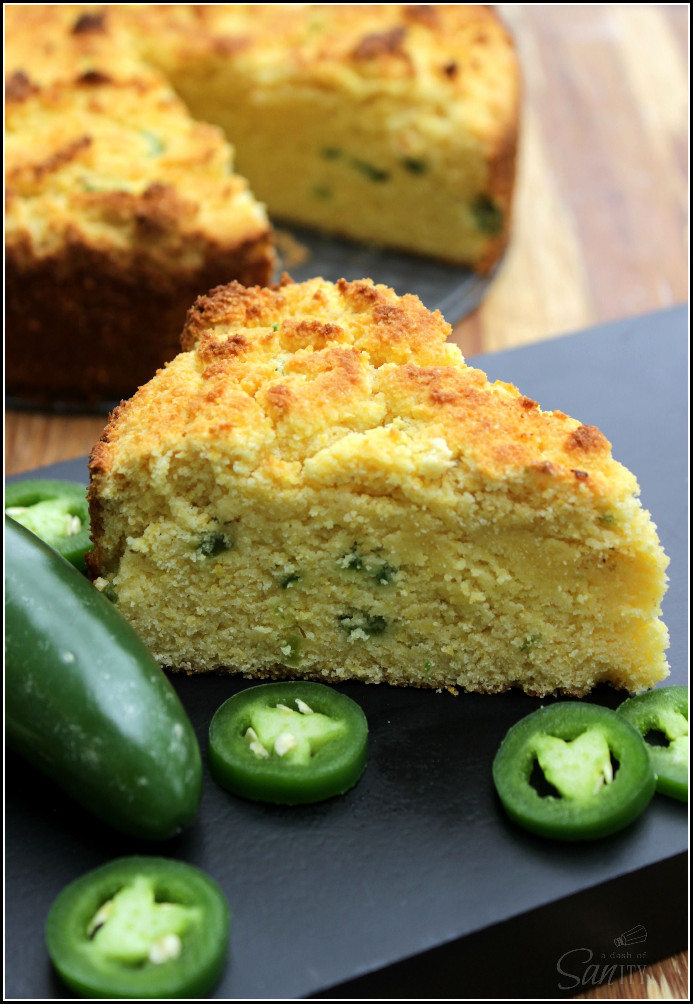 Sweet Jalapeño Cornbread a Gluten-Free Recipe - A Dash of Sanity