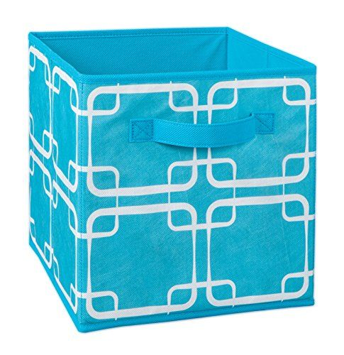 ClosetMaid 1846 Cubeicals Fabric Drawer, Ocean Blue Square Print: ClosetMaid  Cubeicals Fabric Drawers Are A Convenient Way To Hold Hobbies, Toys, ...