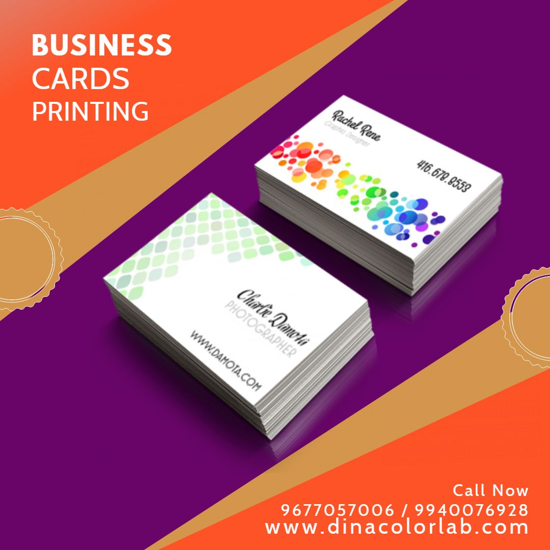 Online Business Cards Printing In Chennai Visiting Card Printing Printing Business Cards Visiting Card Maker