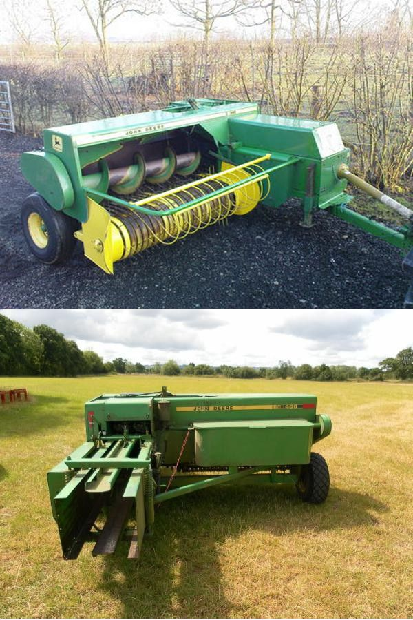 Pictures Of One Of The Balers We Used They Were Taken At