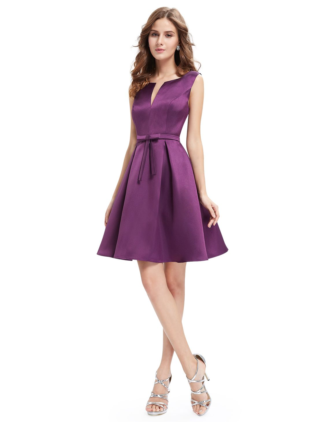 Violet Sleeveless Short Dress - Mark & Roberts | Cocktail and Club ...
