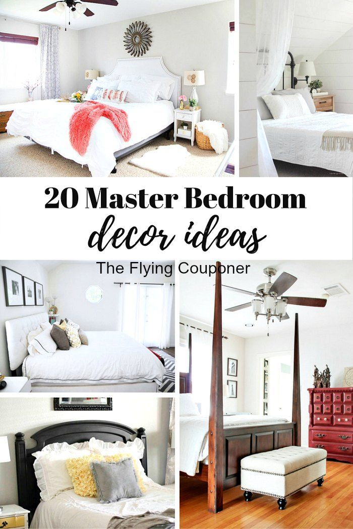 20 Master Bedroom Decor Ideas | Rustic Farmhouse, Budgeting And Decoration