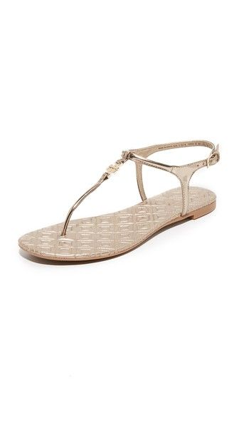 83c02659315 Tory Burch Marion Quilted Sandals