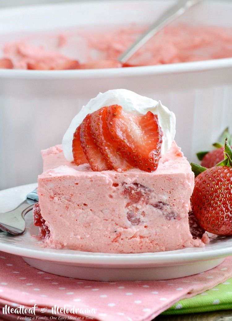 Strawberry Jello Fruit Salad – Meatloaf and Melodrama