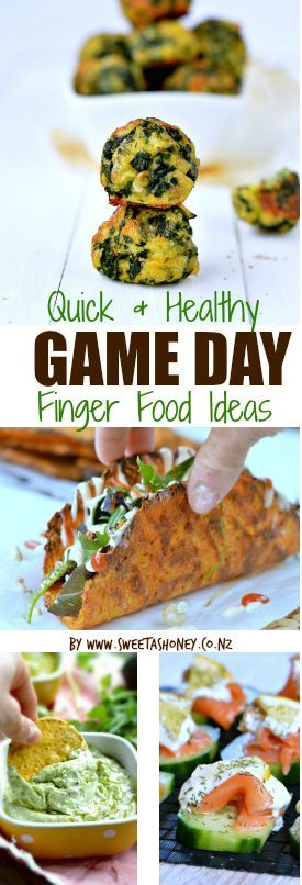 A List Of 41 Quick Easy Healthy Game Day Finger Food Ideas Because