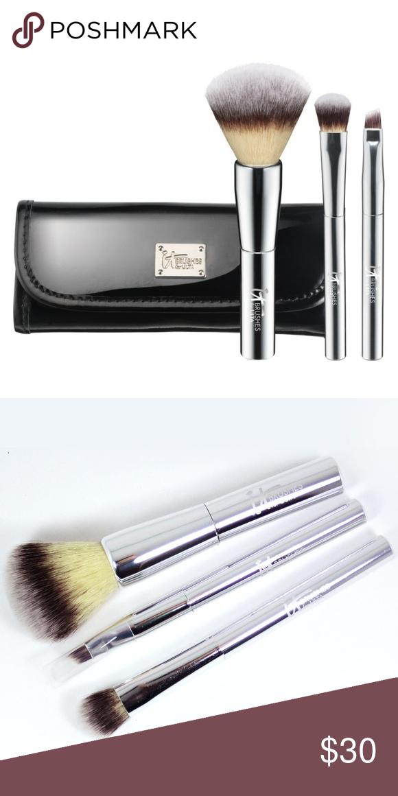 It Cosmetics For Ulta Travel Brush Set Nwt My Posh Picks
