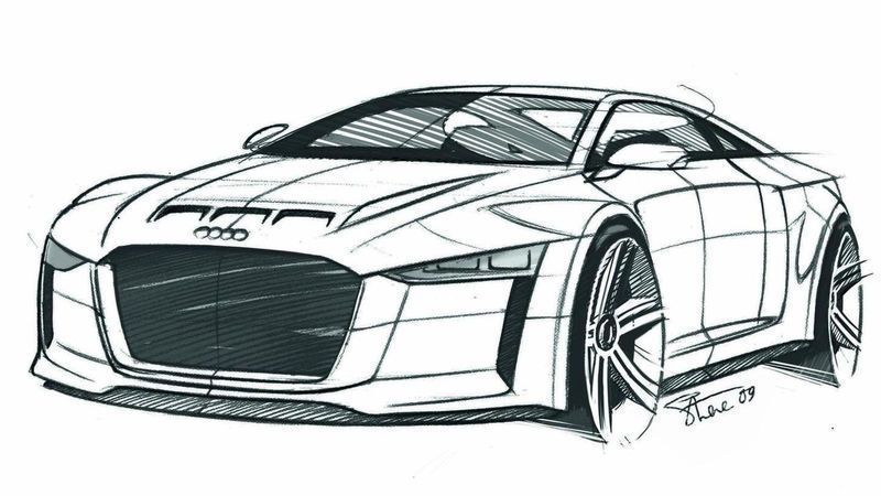 Sports Car Coloring Page Audi Cars Coloring Pages Car Colors Race Car Coloring Pages