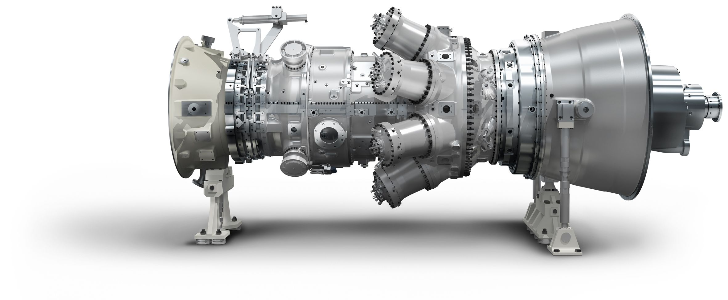 The Siemens SGT 750 is a low weight industrial gas turbine