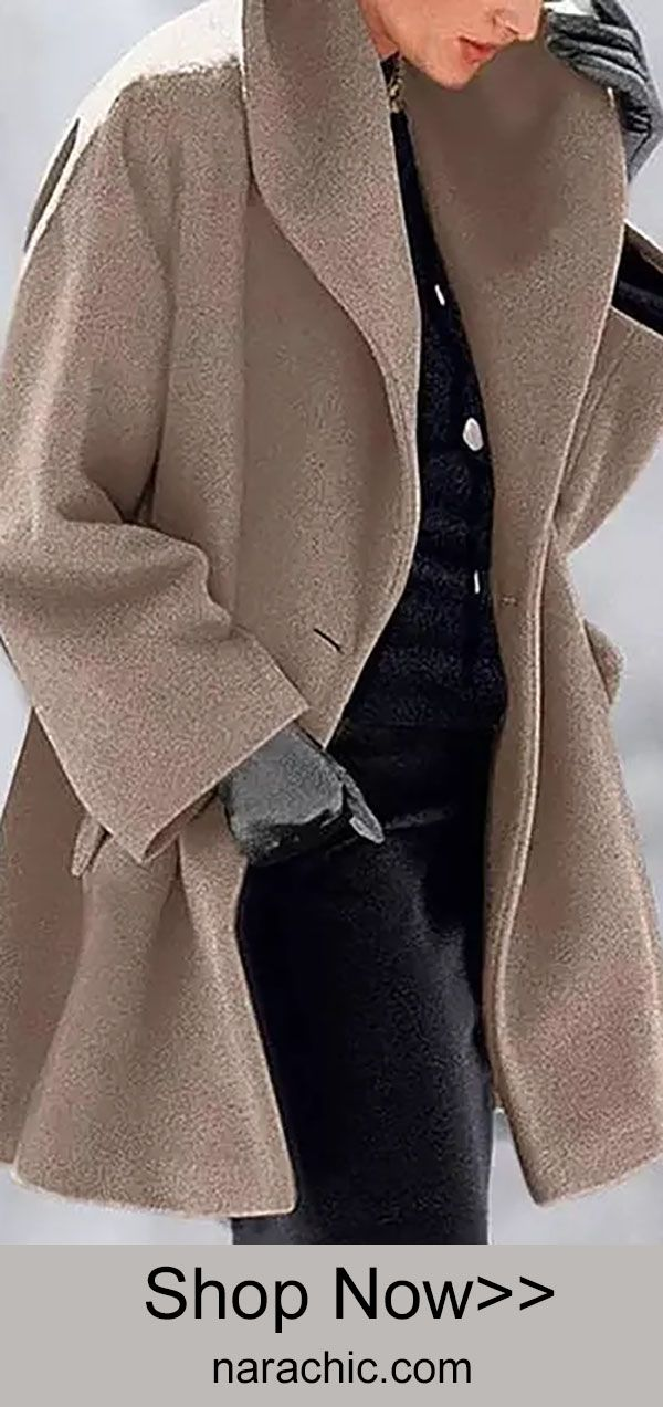 Hot Sale!New Warm Fashion Double-faced Fabric Multi-Color Shawl Collar Coat