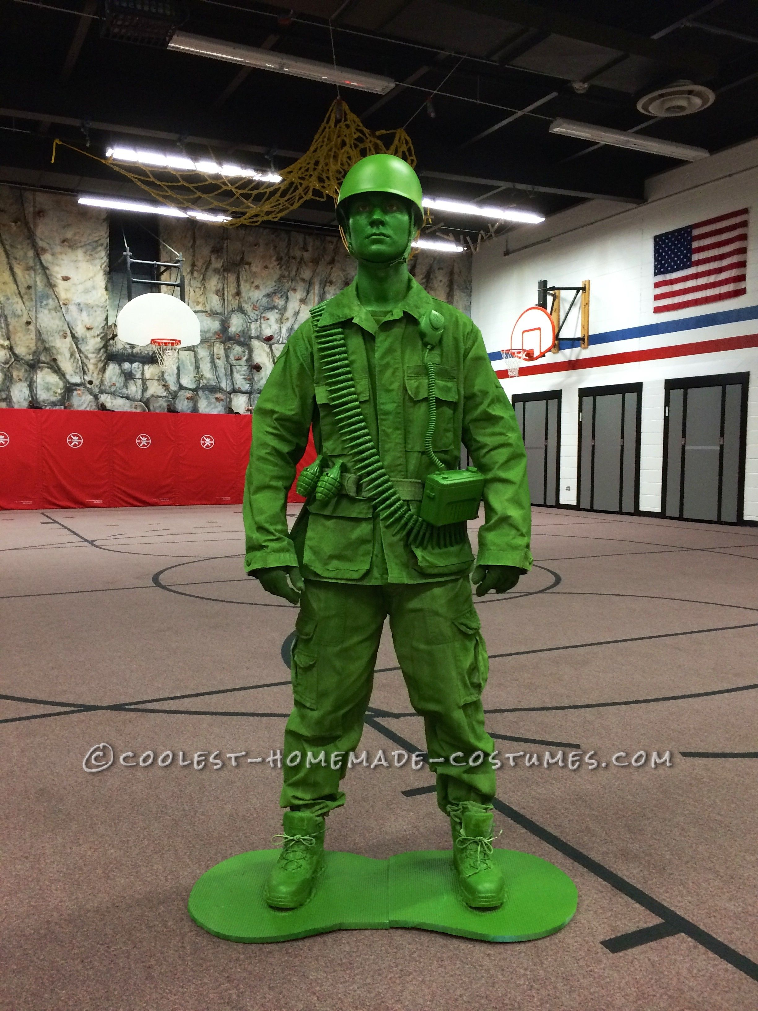 17b461997ff DIY Halloween Costume Idea: A Plastic Toy Soldier Comes to Life ...