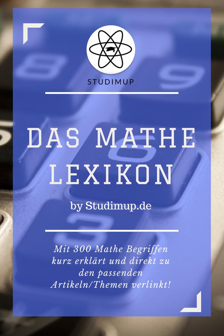 das mathe lexikon mit 300 begriffen und erkl228rungen