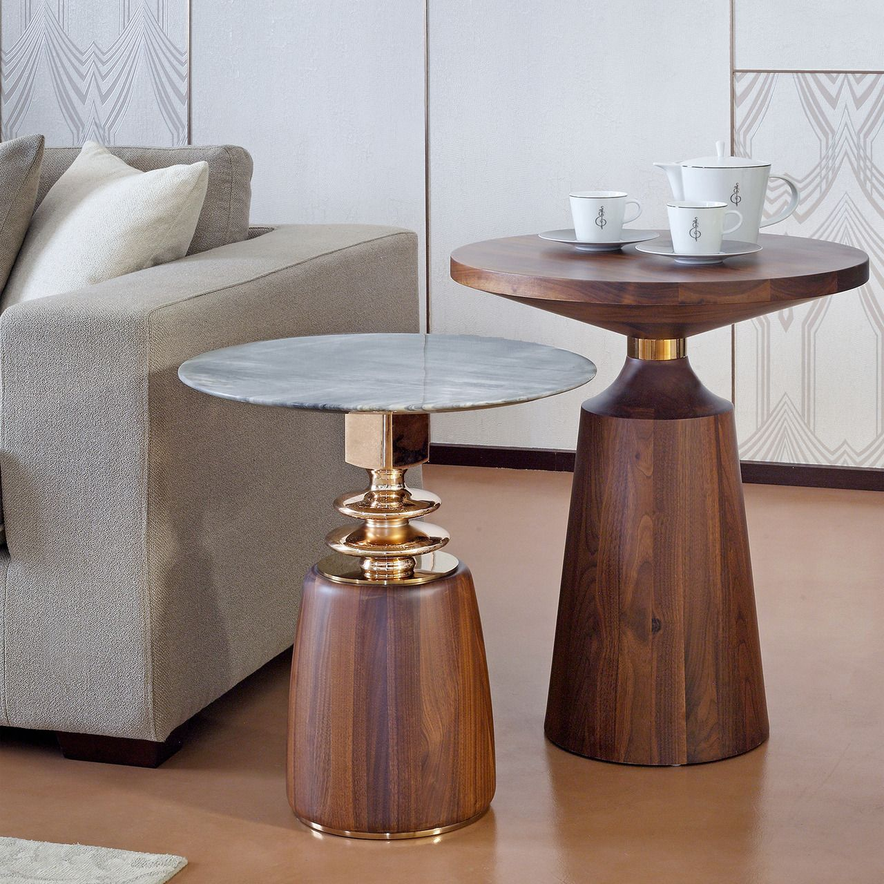 Ddhomedubai Our Famous Casa Sidetables Are Trendy And Versatile Combining Rose Gold Gr Contemporary Decor Modern House Decor Modern Home Decor Items Online [ 1280 x 1280 Pixel ]