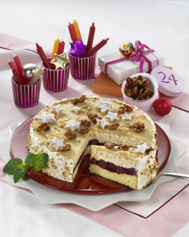 Gebrannte Mandel Kirsch Torte Rezept German Recipes Tried And