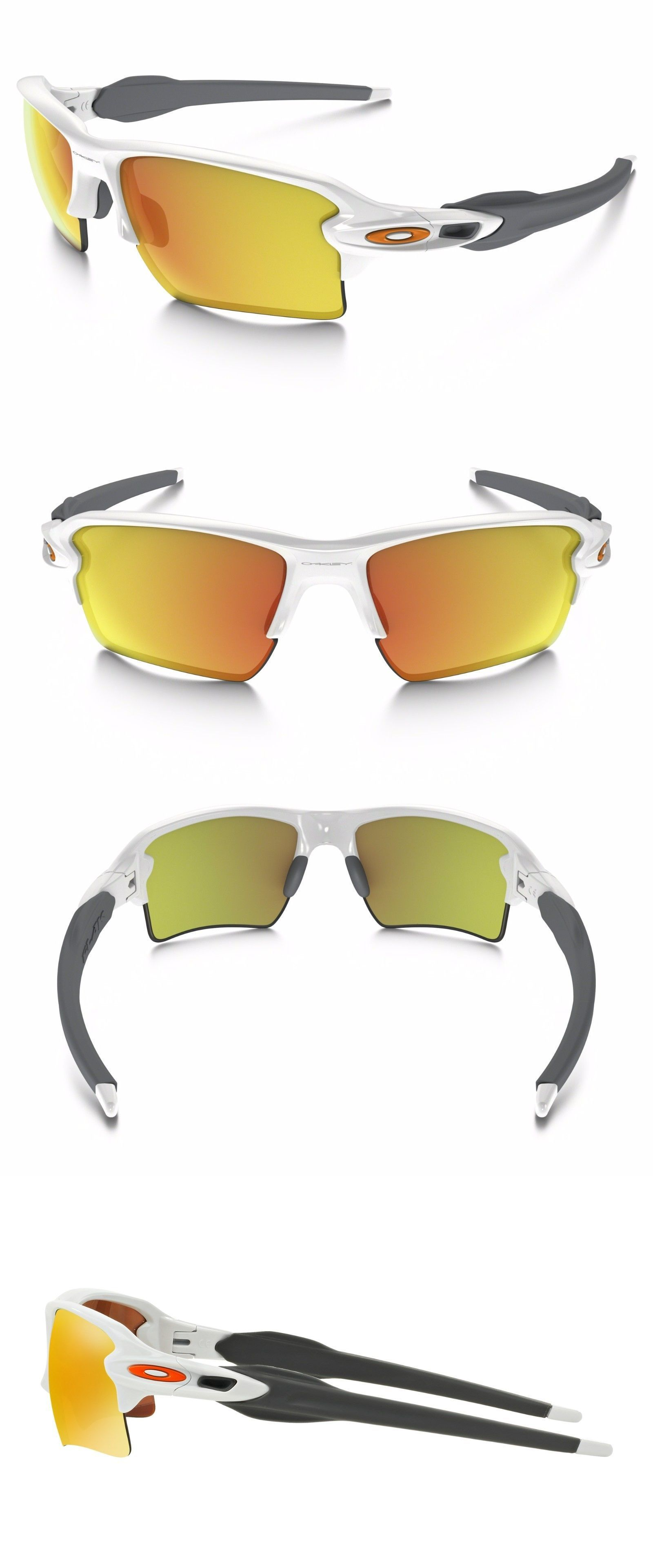 3ac97a759c Sunglass Lens Replacements 179194  Oakley Oo9188-19 Flak 2.0 Xl Polished  White Fire Iridium
