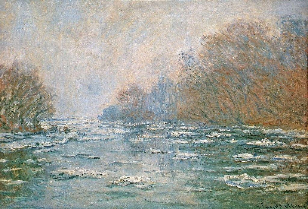 La Débâcle près de Vétheuil (C Monet - W 572) | Monet paintings, Claude  monet paintings, Claude monet