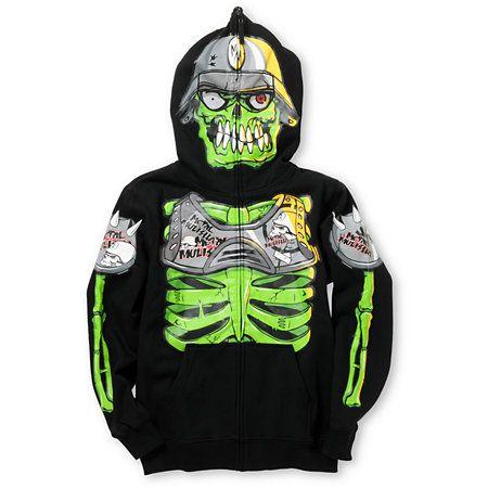 Boys mask hoodie