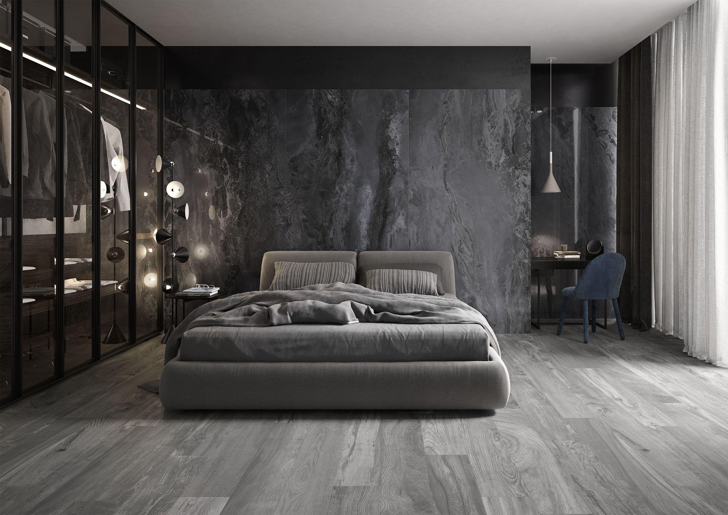 Elle Marble Gres Porcelain Mega Slab Rak Ceramics Bedroom Interior Luxury Bedroom Decor Master Bedroom Interior Most popular room ceramics
