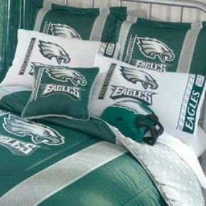 Nfl Comforter Queen Size Philadelphia Eagles Free Shipping
