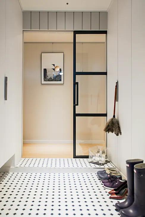 크림 톤의 세련된 분위기 그리기 34평 아파트 인테리어 호미파이 Homify 인테리어 작은 집 욕실 집 인테리어 디자인