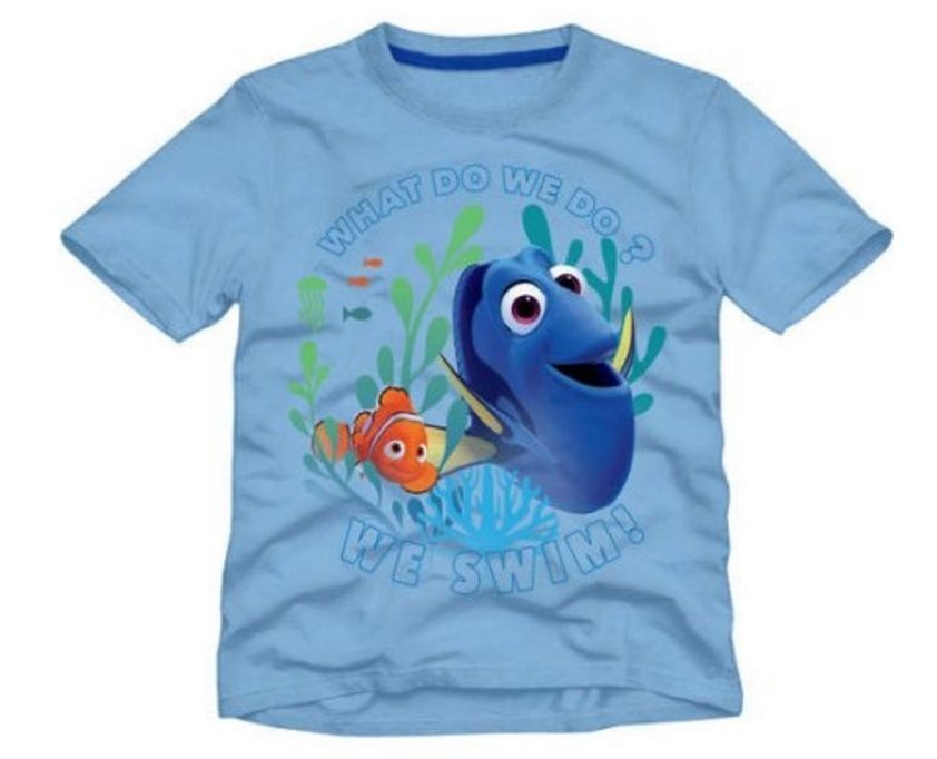 Finding DORY and NEMO Boy's/Girl's Shirt 3T s/s Blue Top NeW Disney NWT #Disney #Everyday
