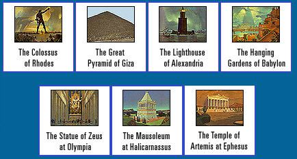 7 Wonders of the Ancient World Learn all I can about them ...