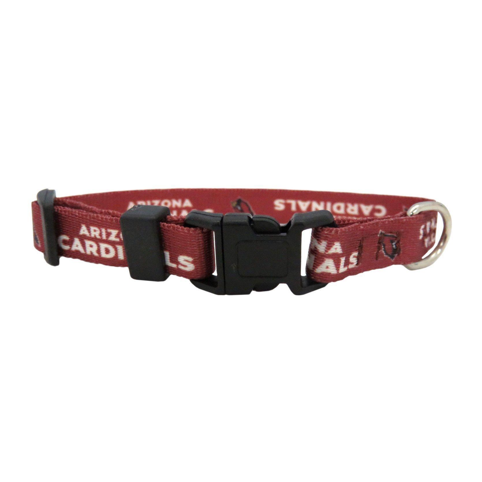 the best attitude 69430 bfb90 Arizona Cardinals Dog Collar Size XS | Bentley Boo | Arizona ...