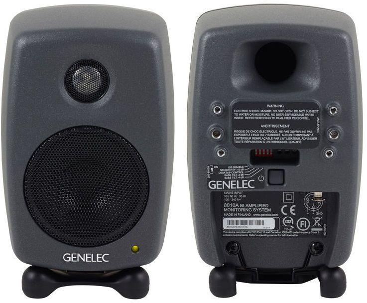 Genelec 8010 Studio Monitors Monitor Recording Studio Home