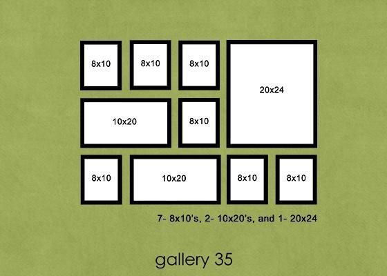 Photo Wall Arrangement | For the Home | Pinterest | Photo wall ...