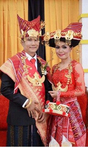 Pengantin adat batak karo Indonesian Wedding Inspiration