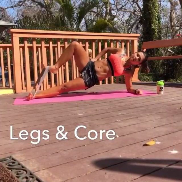 LEGS & CORE  #workout