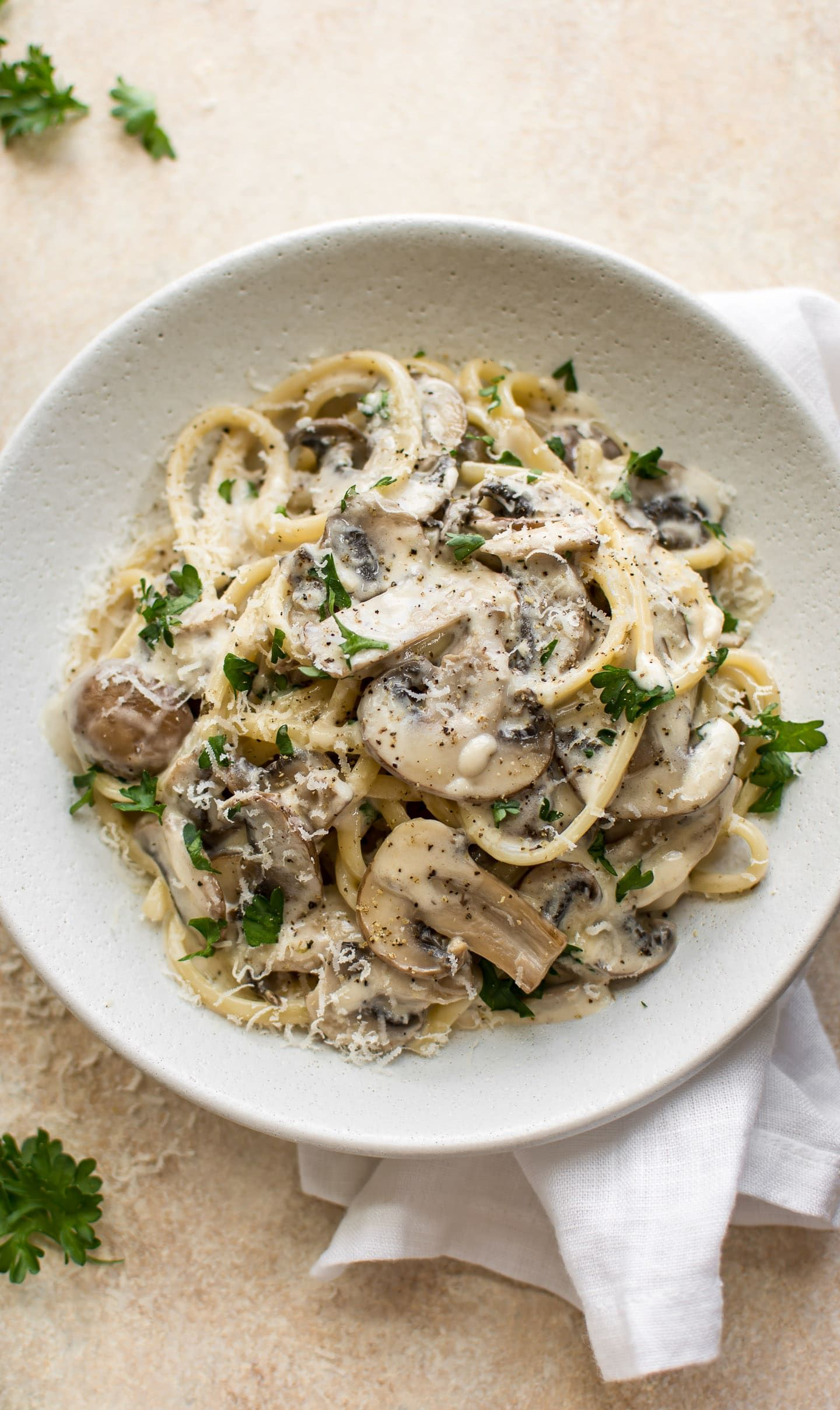 This Easy Mushroom Pasta Recipe Is Loaded With Good Stuff White Wine Garlic Dijon Mustard Butter Creamy Mushroom Pasta Pasta Dishes Mushroom Recipes Pasta
