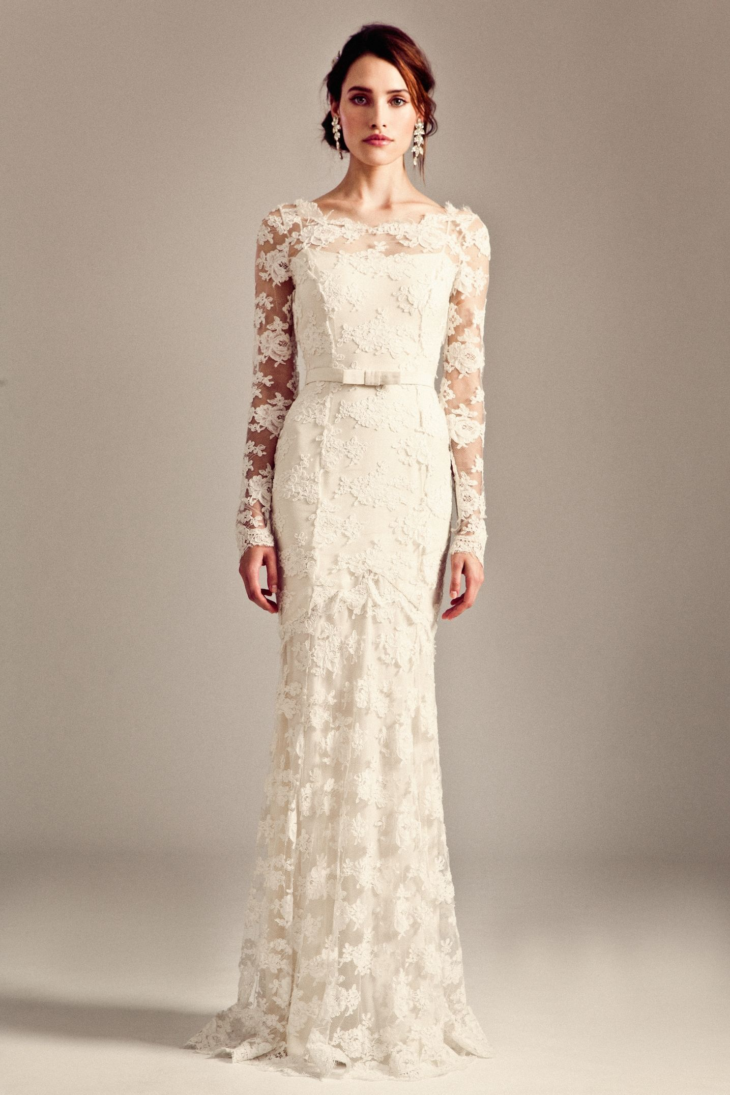 Best wedding dress boutiques in london  Florence Dress from the Temperley Bridal Iris Collection