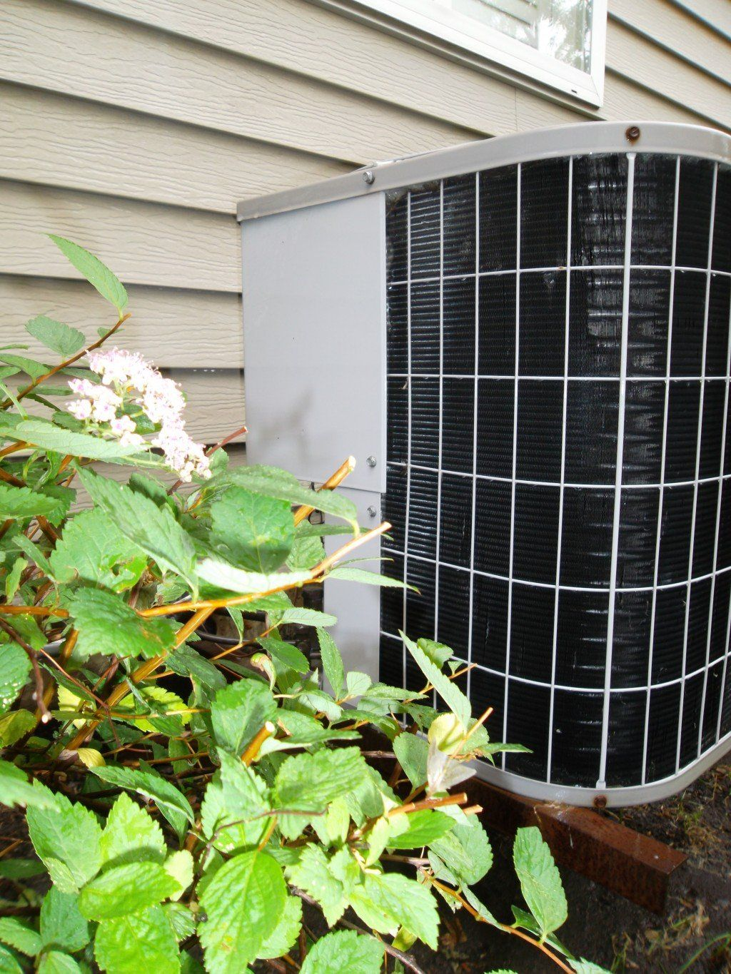 how to clean outside central ac unit