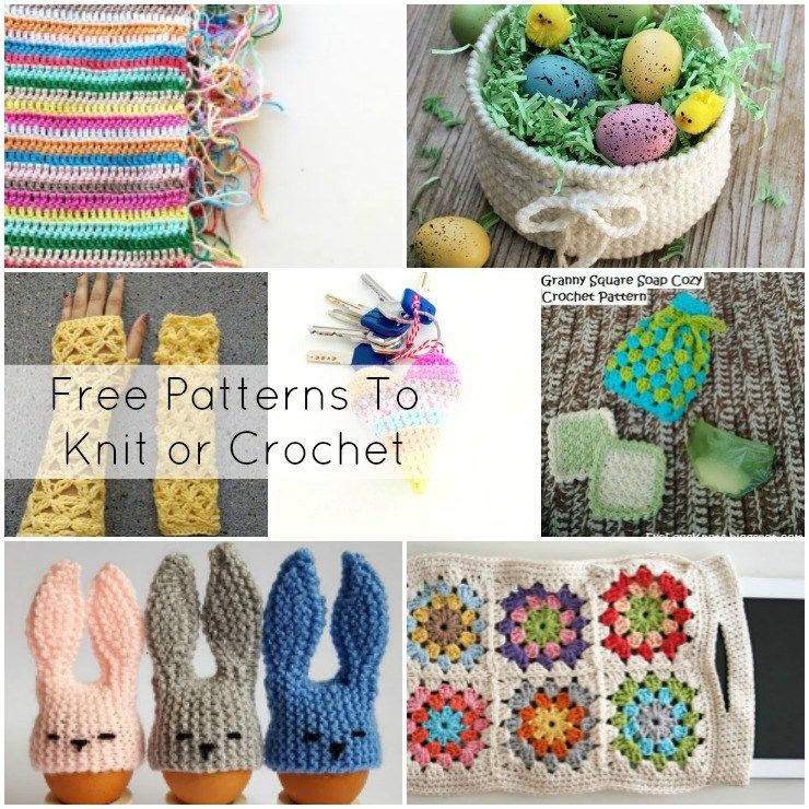 Free Patterns to Knit or Crochet + Funtastic Friday 122 Link Party ...