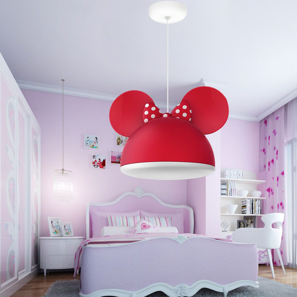 Minnie/Mickey Mouse Head Ceiling Light Pendant Lamp Chandeliers ...