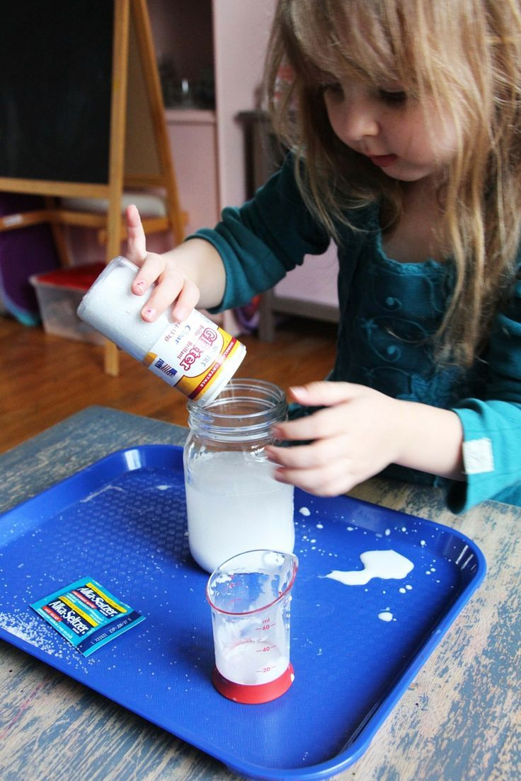 Snow Storm In A Jar Weather Science Science For Kids
