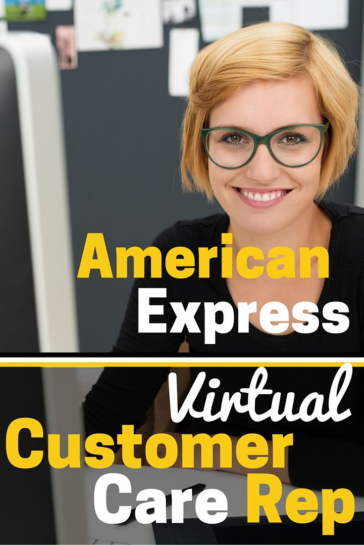 American Express Customer Service Jobs With Images Customer